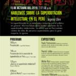 Cambio importante para la charla superdotación en el Perú